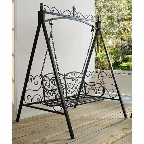 Black Wrought Iron Garden Swing Rs 10000 Unit Precision