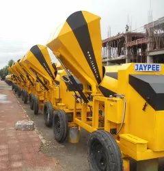 Jaypee 6 Hp Kirloskar Tafi Engine Mobile Concrete Mixer
