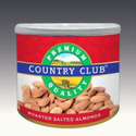 Country Club Roasted Salted Almonds, Packing Size: 150 G , Packaging Type: Tin