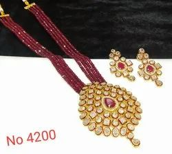 Kundan Party Wear Kundan Set