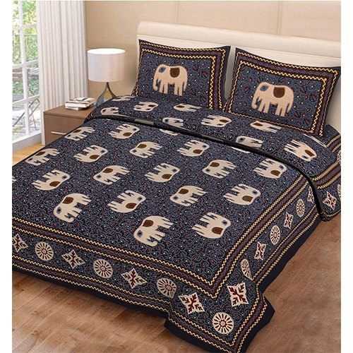 Discharge Cotton Print Bedsheet
