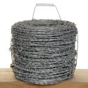 G I Silver Gi Barbed Wire, Size: 2.5mm