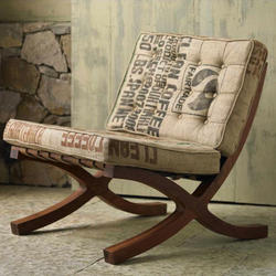Indiskie Brown Barcelona Chair
