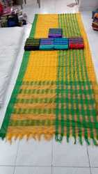 Pradeep Fashion Kota Cotton Silk Saree With Blouse