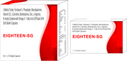 Food Supplement Softgel Capsules