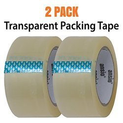 Packing Tape - Transparent - 2 Pack - 60 Meter
