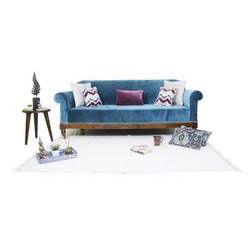 Royal Wooden 3 Seater Sofa