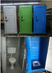 FRP Mobile Western Type Toilet