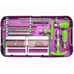 Minimally Invasive Surgery Instruments Tray Kits