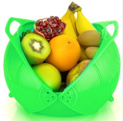 Foldable Plastic Fruits Basket