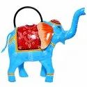 Iron Crafted Elephant Gardening Purpose Watering Plants Can