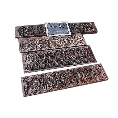India Impression Carved Wood Wall Panel India Impression Id