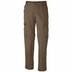 Plain Cotton Mens Cargo Trouser, Size: 26-38
