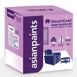 Matt Water Based Paint Asain Paints Smart Care Damp Block 2k, Packaging Type: Bucket