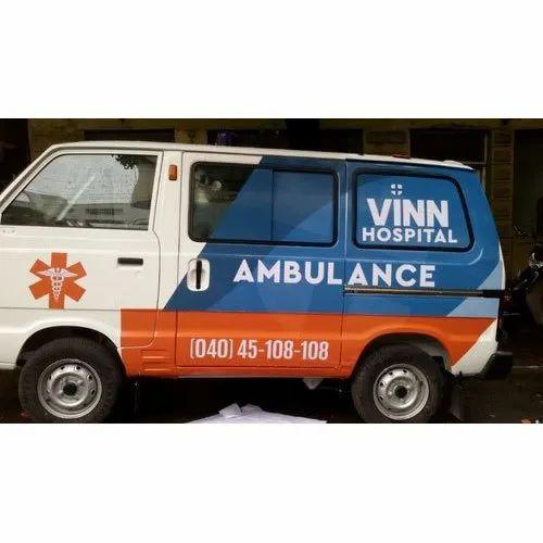 Ambulance Body Graphic Sticker