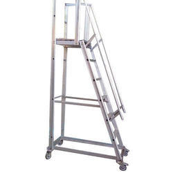 SKL Aluminum Trolley Ladder