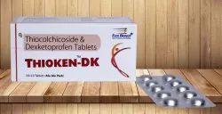 Thiocolchicoside 4 mg & Dexketoprofen 25 mg Tablet