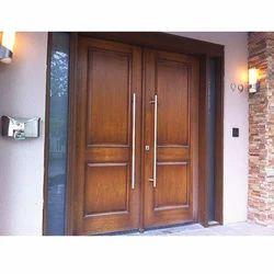 Natural Wood Front Door