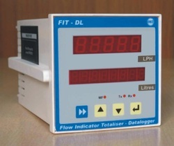 Flowrate and Totalizer Datalogger