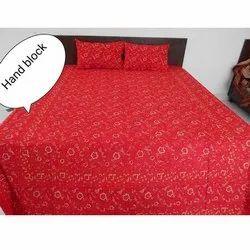 Jaipuri Hand Block Printed Bed Sheets