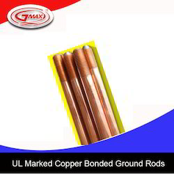 UL Marked Copper Bonded Ground Rods