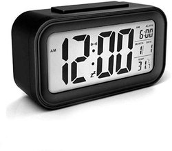 Digital Table Smart Alarm Clock with Automatic Sensor, Date & Temperature