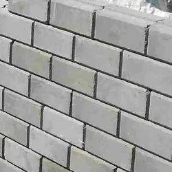 Rectangular Gray Fly Ash Brick