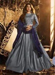 Jennifer Winget Eid Special Anarkali Suit