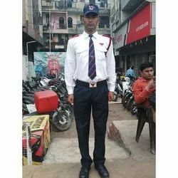Armed Bank Security Guard