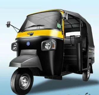 Black And Yellow Ape City Autorikshaw Piaggio Vehicle Private