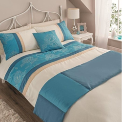 Quilted Silk Bed Runner