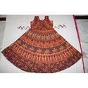 Rajasthani Print Ladies Jacket Frock