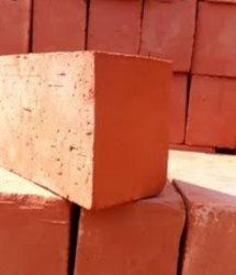 Rectangular Red Bricks, Size: 4, 6