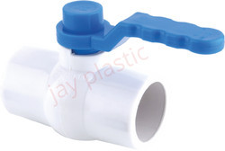 JK UPVC  Ball Valve (MS Long Handle)