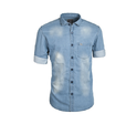 Double Shade Denim Shirt