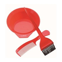 GUBB USA Red hair colouring kit- hair comb, brush & coloring bowl, Pack Size: 18 cm