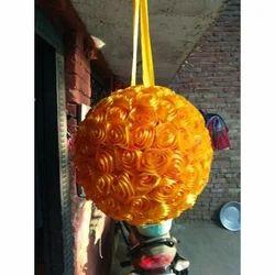 Ribbon Flower Hanging Ball