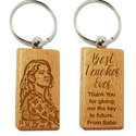 Personalized Wooden Key Chain