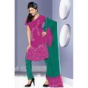 Mgenta Print Bandhej Suit