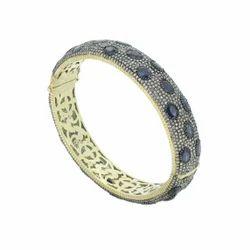 Blue Sapphire Gemstone Bracelet