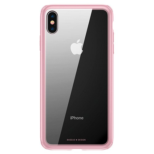 new concept 6962f 56cc9 Baseus See Through Glass Protective Case Iphone Xs Max 6.5 Inch