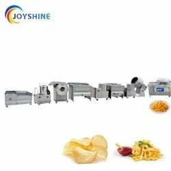 Automatic French Fries and patato chips making