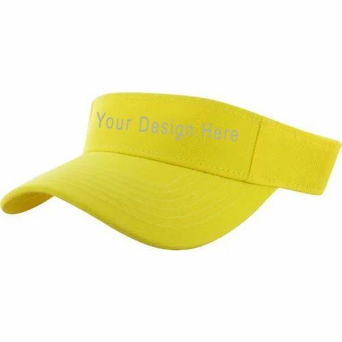 Anmol Cap Yellow Promotional Half Cap 0614eec3442
