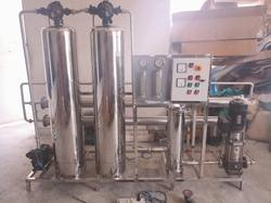 Stainless Steel Reverse Osmosis Plant
