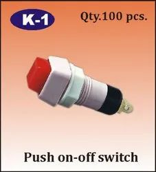 K-1 Push On - Off Switch