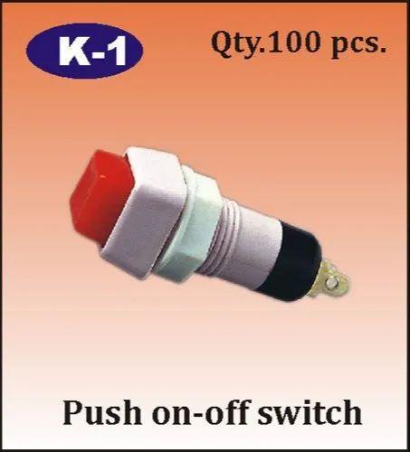 K-1 Push On - Off Switch