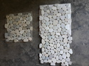 White Pebble Stone Mosaic Tile