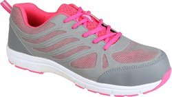 Honeywell Safety Shoe lightweight sporty, Grey and Pink