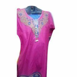 Medium , XL Silk Ladies Designer Kurti