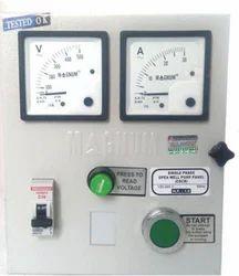 Manual Single Phase Submersible Pump Panel